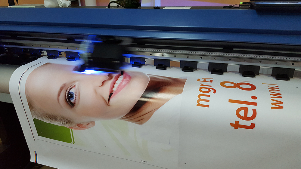 druk uv, roll-to-roll